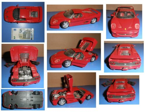 Ferrari 488 Gtb  Kit Red MAISTO 1:24 MI39018-488 Model