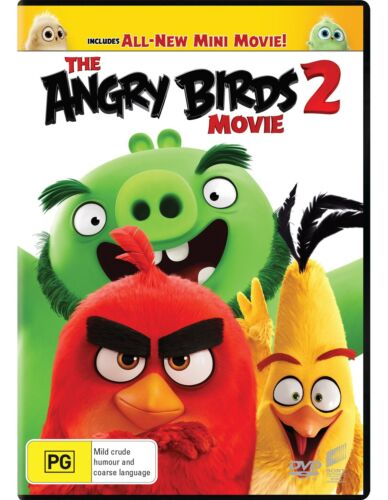 The Angry Birds Movie 2 DVD Region 4 NEW