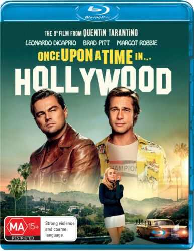 Once Upon a Time In Hollywood Blu-ray Region B NEW // PRE-ORDER for 11/12/2019 <br/> *** PRE-ORDER *** EXPECTED DELIVERY DATE 11/12/2019 ***