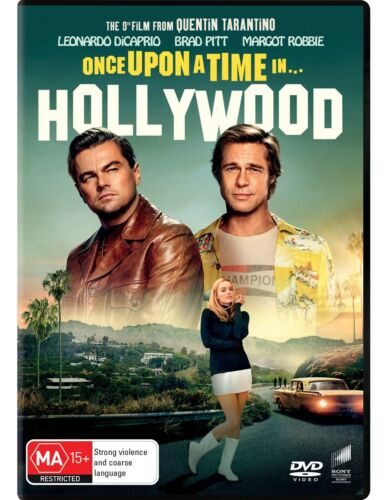 Once Upon a Time In Hollywood DVD Region 4 NEW