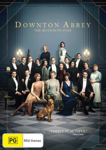 Downton Abbey the Movie DVD Region 4 NEW