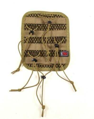 LBT Coyote Brown Tan Medical Kit Pouch Hook In Organizer Bungee/MOLLE InsertPouches - 158437