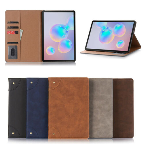 PU Leather Flip Smart Wallet Case Cover For Samsung Galaxy Tab S6 10.5 T860 T865