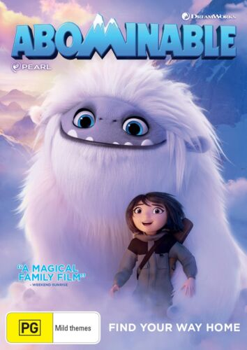 Abominable DVD Region 4 NEW // PRE-ORDER for 18/12/2019 <br/> *** PRE-ORDER *** EXPECTED DELIVERY DATE 18/12/2019 ***