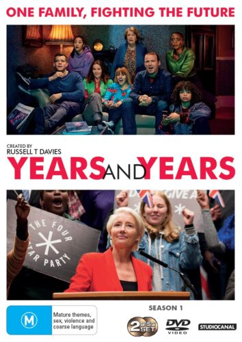Years and Years DVD Region 4 NEW