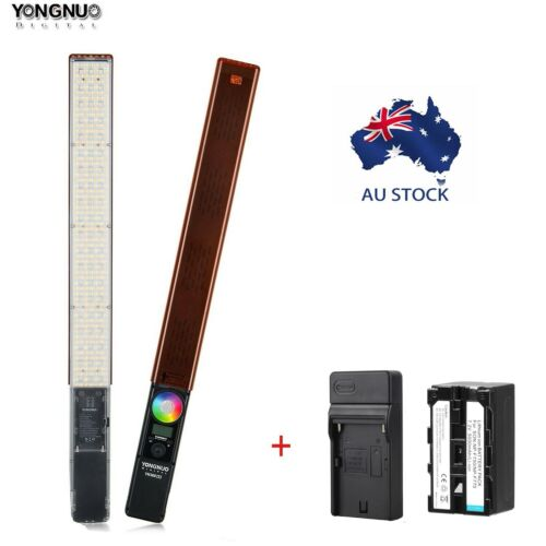 YONGNUO YN360III Handheld LED Video Light RGB 3200K-5500K w/ Battery Charger <br/> AU Stock✔Free shipping ✔ w/ Battery & Charger