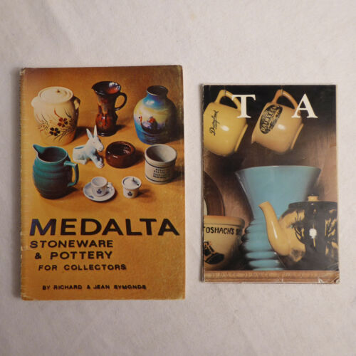 Vintage Collectors Booklet and Poster 1974 MEDALTA STONEWARE POTTERY R&J Symonds