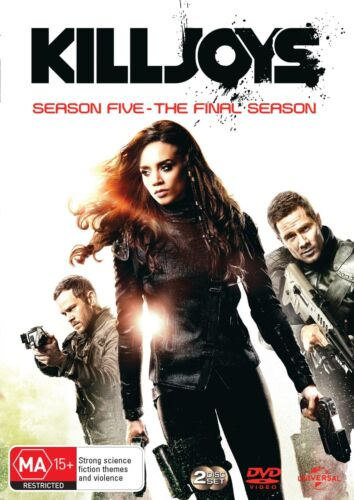 Killjoys Season 5 Series Five DVD Region 4 NEW // PRE-ORDER for 18/12/2019 <br/> *** PRE-ORDER *** EXPECTED DELIVERY DATE 18/12/2019 ***