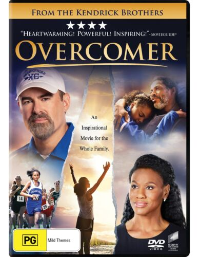 Overcomer DVD Region 4 NEW // PRE-ORDER for 18/12/2019 <br/> *** PRE-ORDER *** EXPECTED DELIVERY DATE 18/12/2019 ***