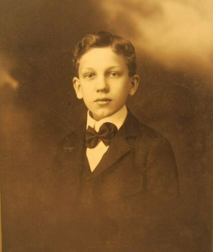 Victorian Antique Cabinet Card Photo of a Young Boy