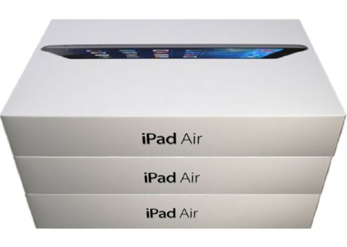 NEW Apple iPad Air 1st Gen. 32GB Wi-Fi Only 9.7inch - Space Gray - Plus Bundle
