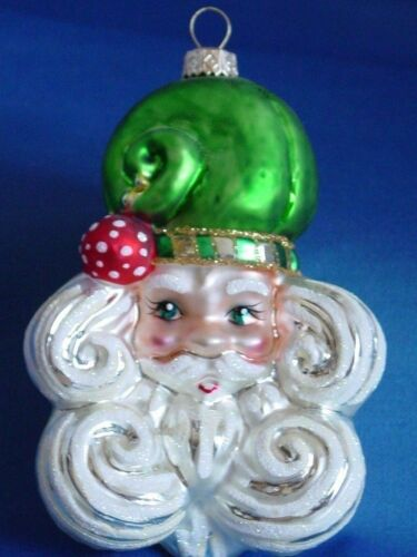 Santa Ornament With Display Stand