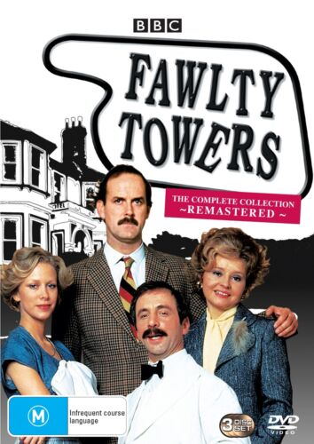Fawlty Towers The Complete Collection Box Set Remastered DVD Region 4 NEW