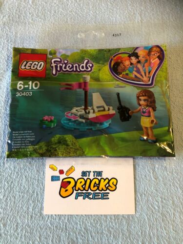 LEGO 30403 OLIVIA/'S REMOTE CONTROL BOAT NEW SEALED POLYBAG FRIENDS