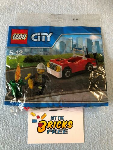 LEGO City 30150 Race Car New Retired BUY 6 POLYBAGS = FREE SHIPPING! Sealed