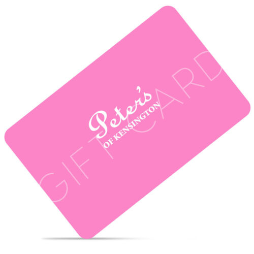 NEW Peter's Three Hundred Dollar Gift Card