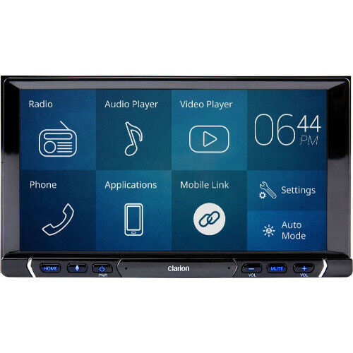 """Clarion FX688A 7"""" with Apple Carplay & Android Auto"""