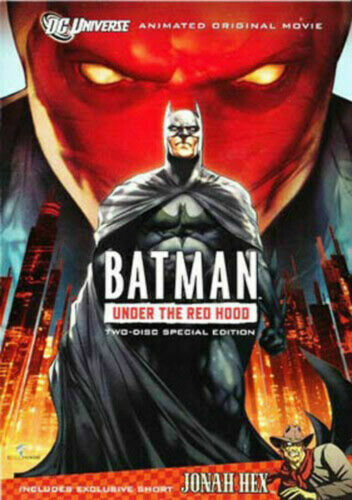 Batman: Under the Red Hood (2 Disc, Special Edition) DVD vgc  t77