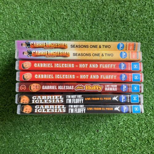 Gabriel Iglesias (various DVDs available) DVD disk