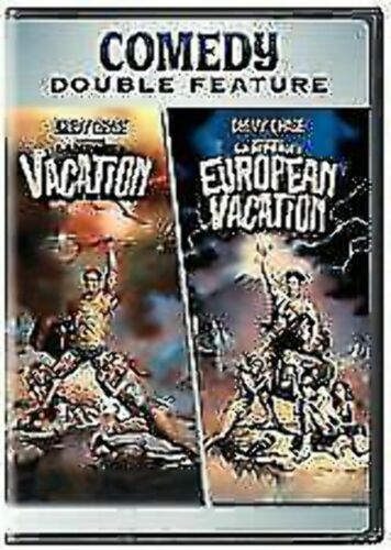 NATIONAL LAMPOON'S VACATION & EUROPEAN VACATION DVD Double Feature (2-Disc Set)