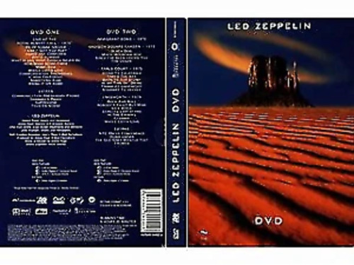 Led Zeppelin (2 DVD Set) very good condition  t53