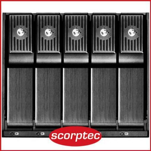 SilverStone 3x 5.25in Bay to 5x 3.5in SAS/SATA HDD Chassis Converter