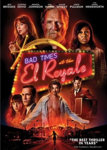 Bad Times at The El Royale (DVD) REGION 1 DVD (USA) Brand new and Sealed