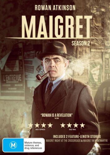 Maigret Series 2 Season Two DVD Region 4 NEW
