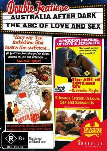 Australia After Dark - The ABC of Love &/and Sex (DVD) John Lamond NEW/SEALED