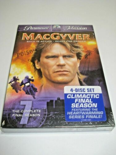 MACGYVER THE COMPLETE FINAL SEASON NTSC 1 BRAND NEW 4 DISC SEALED SET FREE POST