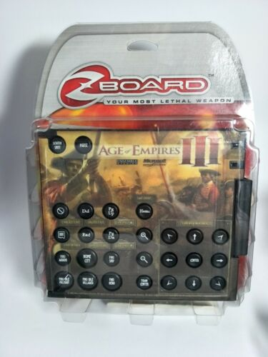 Zboard Age of Empires III Limited Edition Keyset - Requires Zboard Base