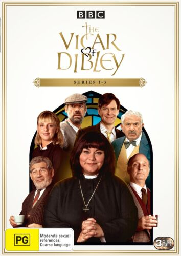 The Vicar of Dibley The Immaculate Collection Box Set DVD Region 4 NEW