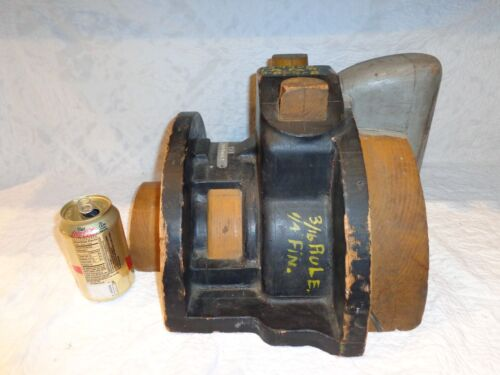 Large Block Engine Industrial Engineering Wood Mold, Steampunk, Manufacturing