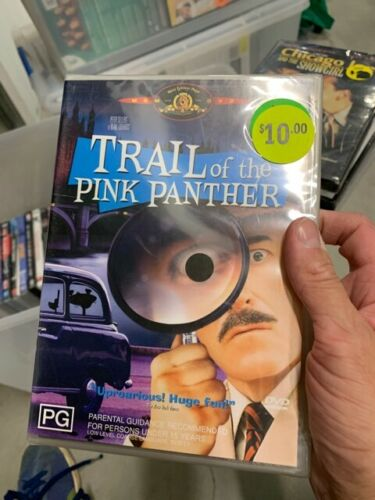 """DVD """" TRAIL OF THE PINK PANTHER """" brand new sealed  t92"""