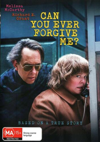 CAN YOU EVER FORGIVE ME DVD, NEW SEALED AUSTRALIAN RELEASE REGION 4