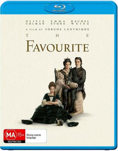 Favourite, The, Blu-ray, NEW SEALED AUSTRALIAN RELEASE clearance