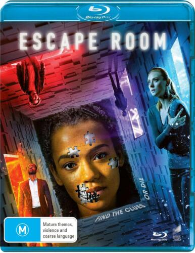 Escape Room (Blu-ray, 2019), NEW SEALED AUSTRALIAN RELEASE clearance