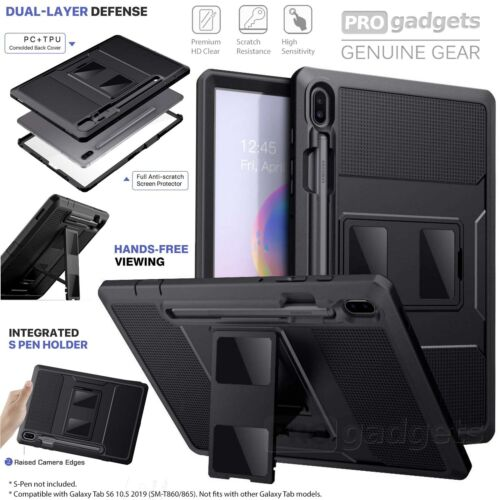 Moko Shockproof Full Body Cover Screen Protector for Galaxy Tab S6 10.5 Case
