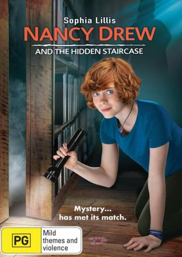 Nancy Drew And The Hidden Staircase DVD, NEW SEALED AUSTRALIAN R4