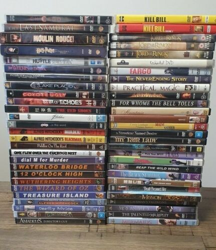 Various DVDs - All different kinds (refer picture and drop-down list)