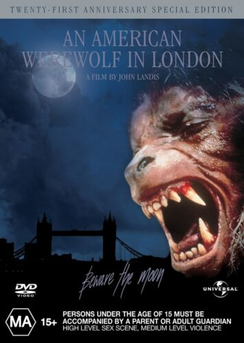 An American Werewolf in London Special Edition DVD Region 4 NEW