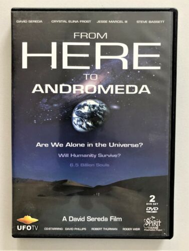 FROM HERE TO ANDROMEDA Documentary LIKE NEW! 2 Discs 216 mins