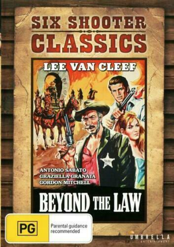 Beyond the Law - Six Shooter Classics - (DVD) Western. Lee Van Cleef NEW/SEALED