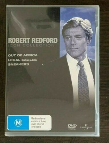 Robert Redford Collection..Out of Africa.Legal Eagles.Sneakers  NEW & SEALED  05