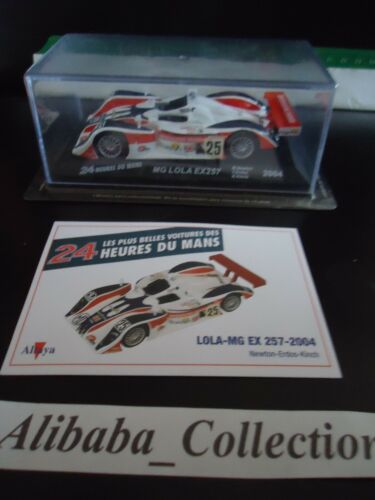 Voiture   LOLA MG EX 257 2004 1:43e miniature 24 heures Mans 24H ALTAYA hours
