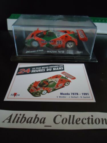 Voiture MAZDA 787B 1991 1:43e miniature 24 heures Mans 24H ALTAYA hours