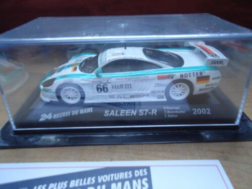 Voiture SALEEN S7-R 2002 1:43e miniature 24 heures Mans 24H ALTAYA hours