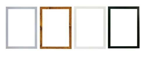 A2 A3 A4 A5  Black Photo Frame White Picture Frame  Poster Frames Walnut 20mm <br/> Quick Dispatch-UK made