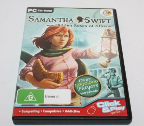 Samantha Swift & The Hidden Roses Of Athena Pc Game 2008