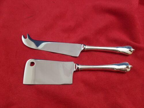 Grand Colonial by Wallace Sterling Silver Cheese Serving Set Custom Made